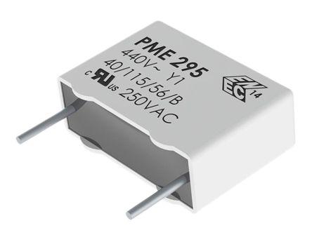 KEMET Paper Capacitor 2.2nF 480V ac ±20% Tolerance PME295 +115°C