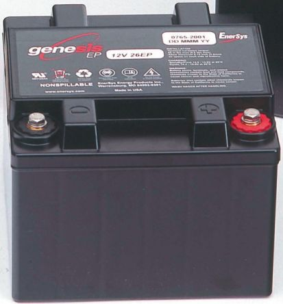 Enersys Genesis RSAMP3727 Lead Acid Battery - 12V,