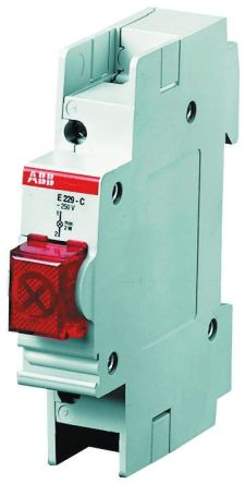 ABB Green LED Indicator, 250 V ac