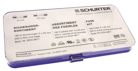 Schurter Non-Resettable Fuse Kit