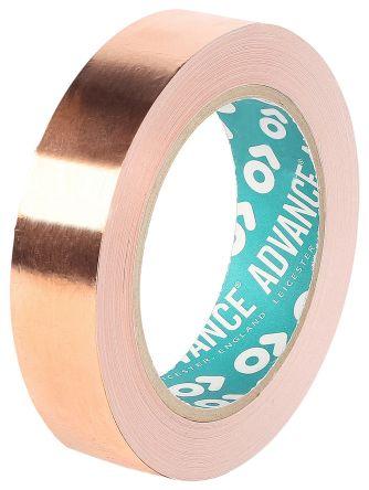 Advance Tapes AT526 İletken Bakır Bant, 19mm x 33m