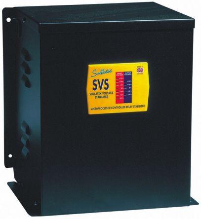 98250000 sollatek sollatek voltage stabilizer 230v ac 50a over voltage and under voltage