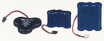 NiCd battery cordless phone, 3.6V 320mAh