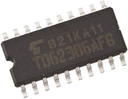 Toshiba TC74ACT245F(F), 1 Bus Transceiver, Bus Transceiver, 8-Bit Non-Inverting CMOS, 20-Pin SOP