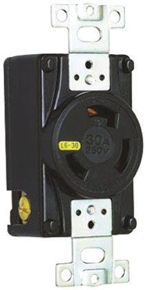 American Denki Japanese Mains Sockets NEMA 5 - 15R, 30A, 250 V ac