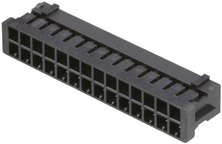 Hirose DF11 Female Connector Housing, 2mm Pitch, 28 Way, 2 Row