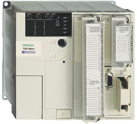 Schneider Electric Modicon TSX Micro Logic Module, 24 V dc Relay, 16 x  Input, 12 x Output With Display