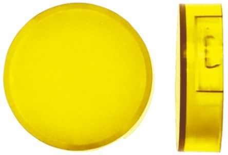 Yellow round lens for switch