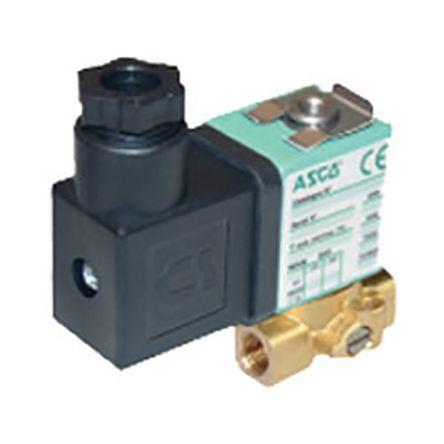SCG356B002VMS.24/DC | Asco Magnetventil, 24 V dc, 3 x 1/8\