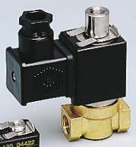 Asco Solenoid Valve G356A002SBA8, 3 port , NC, 230 V ac, 1/8in