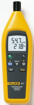 Fluke 971 Thermohygrometer, +60°C With RS Calibration