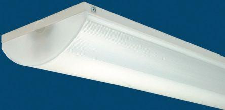 35 W Fluorescent Ceiling Light Single Batten, 230 V ac, 2 Lamp