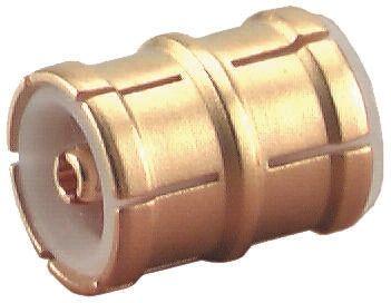 Straight 50Ω RF Adapter MMBX Plug to MMBX Plug 0 → 12.4GHz