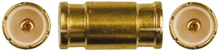 Straight 50Ω RF Adapter MMBX Plug to MMBX Plug 0 → 6GHz