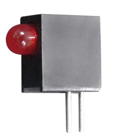 Kingbright L-710A8EW/1ID, Red Right Angle PCB LED Indicator, Through Hole 2.5 V