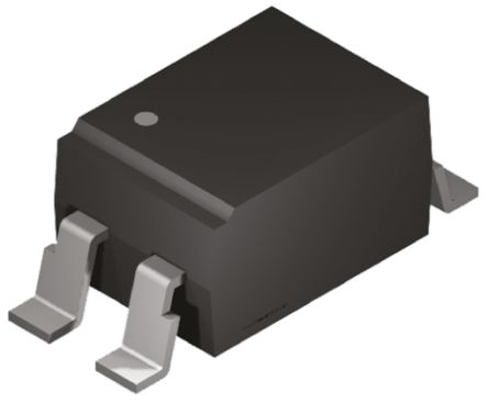 ON Semiconductor, FOD817A3SD DC Input Phototransistor Output Optocoupler, Surface Mount, 4-Pin PDIP