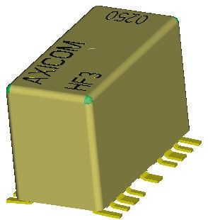 SPDT PCB Mount, High Frequency Relay 5V dc
