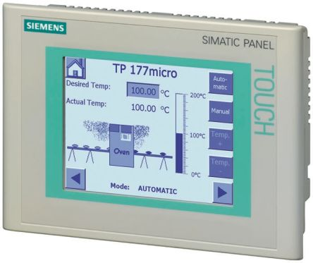Siemens TP 177 Series Touch-Screen HMI Display 5 7 in STN LCD 320 x  240pixels