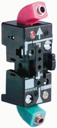 DIN rail mnt associable SB 4mm push in