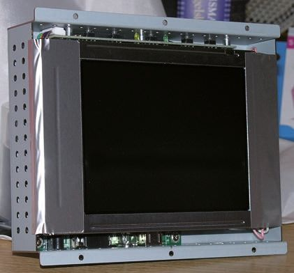 Winmate 15in LCD Open Frame Monitor 1024 x 768pixels, VGA Graphics, Composite/DVI/S-Video/VGA Interface
