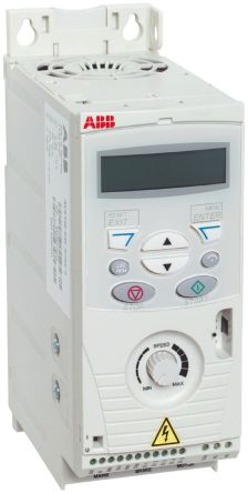 ABB Inverter Drive, 3-Phase In, 500Hz Out 2.2 kW, 400 V with EMC Filter, on