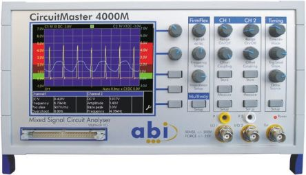 ABI Electronics CircuitMaster Series CircuitMaster 4000M Digital Oscilloscope, Digital Storage, 2, 4 Channels, 100MHz