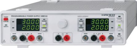 Hameg HM8143 Bench Power Supply, 3 Output 5 V, 0 → 30 V 2 A, 0 → 2 A 60W