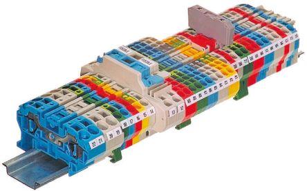 Entrelec, SNA Series , 800 V ac Standard Din Rail Terminal, Screw Termination