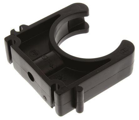 Georg Fischer PP Black Saddle Clamp 16mm x , 6mm
