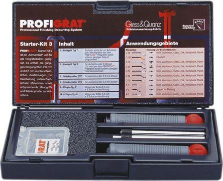 EXACT, 20 Piece, Deburring Tool Kit