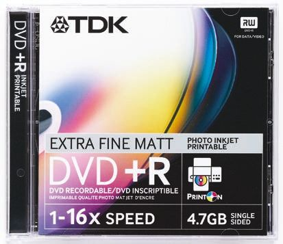 picture regarding Printable Dvd Rs referred to as Disk,DVD-R,4.7GB,Printable,TDK,10 pack TDK RS Products India