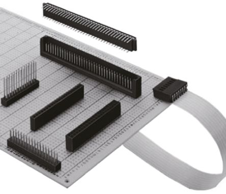 Hirose, HIF3H, 50 Way, 2 Row, Straight PCB Header