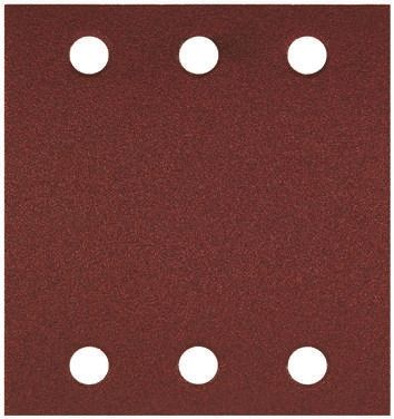 Bosch Aluminium Oxide Medium Sanding Sheet, 60 Grit, 107mm x 115mm