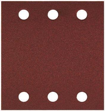 Bosch Aluminium Oxide Fine Sanding Sheet, 120 Grit, 107mm x 115mm