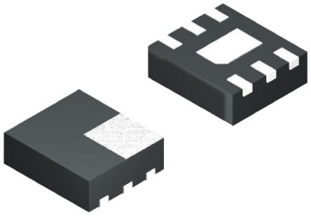 ON Semiconductor FPF1006, Dual-Channel Intelligent Power Switch, MOSFET Load Switch, 1.5A, 5.5V, 1.2W 6-Pin, MLP