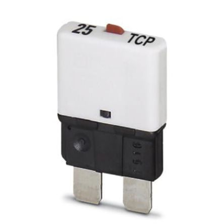 Phoenix Contact 25A SP Pole Automotive Thermal Circuit Breaker, 32V dc