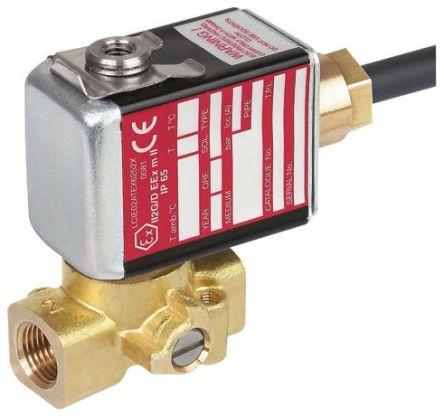 PV G256A002 V MS 24VCC | Asco Magnetventil, 24 V dc, 2 x 1/8\