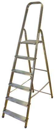 Zarges Aluminium Step Ladder 6 steps