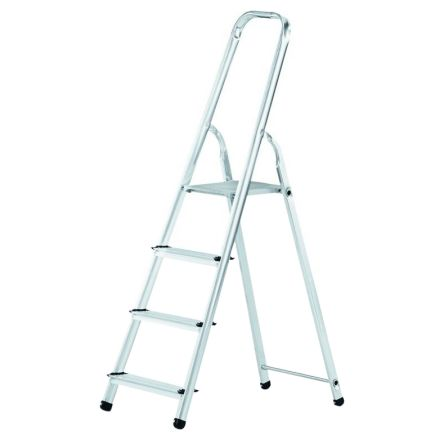 Zarges Aluminium Step Ladder 4 steps