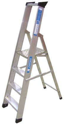 Zarges Aluminium Step Ladder 4 steps