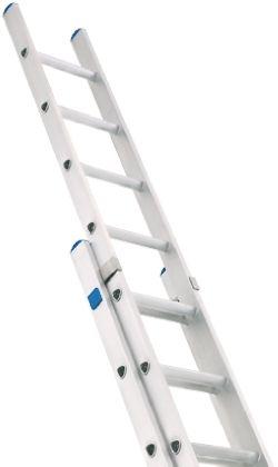 Zarges Extension Ladder 20 steps Aluminium 4.94m open length