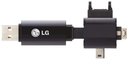 UH14GNPBB LG | LG Phone Charger 4GB USB Flash Drive | 660-4702 | RS