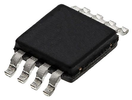 INA126EA/250 Texas Instruments, Instrumentation Amplifier, 0.5mV Offset, 3 to 28, 8-Pin MSOP