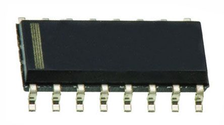 Texas Instruments CD74HC173M Quad D Type Flip Flop IC, 3-State, 16-Pin SOIC