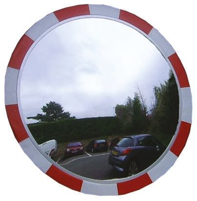 PC Outdoor Mirror, Circular product photo