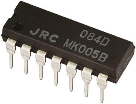 NJM084D ,, Op Amp, 14-Pin PDIP product photo