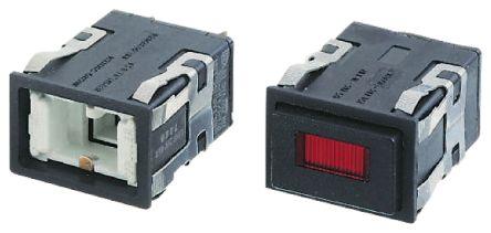 Indicator Lens Rectangle Style, White product photo