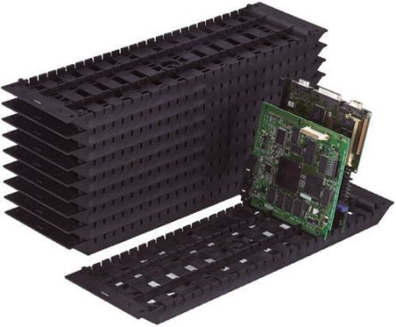 Hozan ESD-Safe Rack Holder, 465 x 140 x 23mm