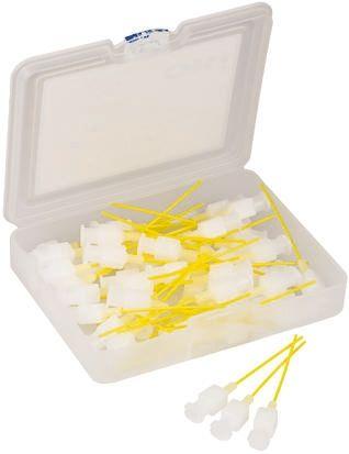 Dispenser Needle 20GA Plastic Yellow x50