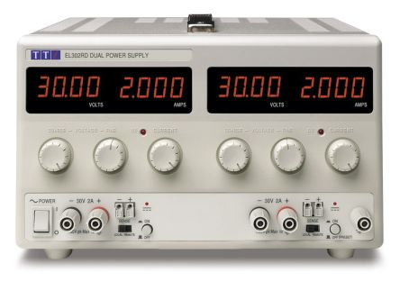 Bench Power Supply EL302RD Digital 120W, 2 Output 0 -> 30V 2A product photo